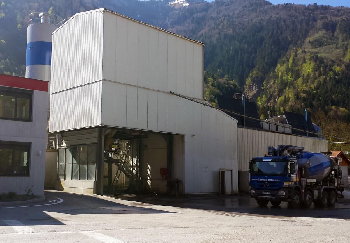 Centrale à béton haute technologie - Thônes Béton